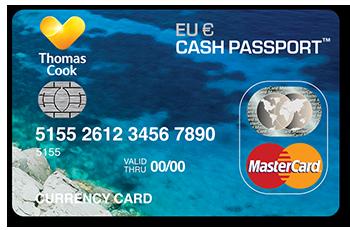 Travel Money Card Cash Passport
