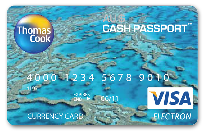 Thomas and cook forex card